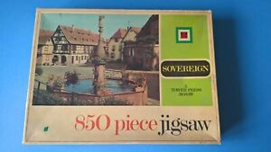Sovereign - Elsass France, Jigsaw Puzzle, Tower Press, 850 Pieces, Complete