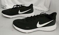 Nike Men's Revolution 5 Running Shoes GG8 Black BQ3204-002 Size 12