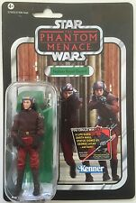 "Star Wars Action Figure of NABOO ROYAL GUARD (VC 83 ) on Vintage Card 3.75"" Tall"