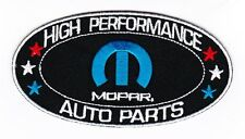 MOPAR SEW/IRON ON PATCH EMBROIDERED HEMI DODGE PLYMOUTH CHALLENGER CHARGER