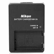 New Nikon MH-24 Battery Charger for EN-EL14 P7100 P7000 D5100 D3100 D3200