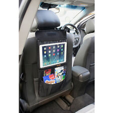 Car Tablet Holder with Back Seat Organiser and Storage Pockets