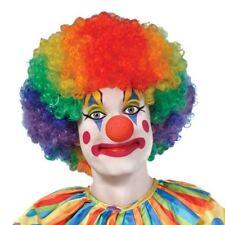 Funky Afro Wig Cap Disco Crazy Clown 70s Fancy Dress Unisex Hen Stag Party