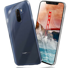Silicone Case For Xiaomi Pocophone F1 Protective Transparent Thin Back Cover