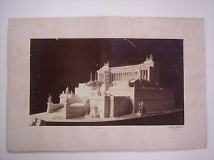 COLAMEDICI Giovanni Battista PROGETTO DEL VITTORIANO - FOTOGRAFIA, Roma 1894 ca.
