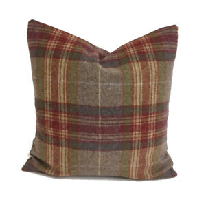 Cushion Cover Abraham Moon Threshfield Rhodolite Pure  Wool