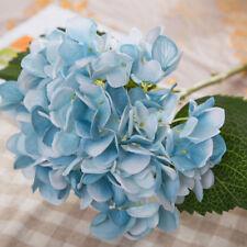 Hydrangea Silk Artificial Flower Fake Blossom Bunch Bouquet Wedding Bridal Decor