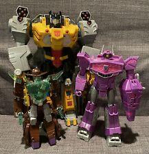 Transformers Cyberverse Lot Grimlock Shockwave Wildwheel Ultimate Battle Call