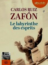 CARLOS RUIZ ZAFON***LE LABYRINTHE DES ESPRITS***NEUF SOUS FILM**3 CD MP3**28H 32