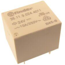 Finder 36.11.9.024.4011 Relais 24V DC 1xUM 10A 250V AC Relay Printrelais 118940