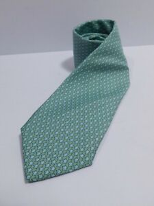 VINEYARD VINES Men's Light Green Stars Silk Tie ($85)