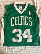 BOSTON CELTICS PAUL PIERCE Reebok JERSEY CHILDS SIZE SM EUC