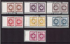 SBZ ex 42-50 E Paare Großröhrsdorf L 10 1/2 gestempelt Briefstück geprüft (22558