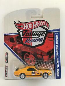 Hot Wheels Vintage Racing '70 Mustang Boss 302 George Follmer