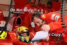 VALENTINO Rossi test Ferrari F1 2006 foto 1