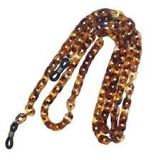 Amber PVC Chain Neck Cord Eyeglass Sunglasses Sports Glasses Holder Chain