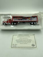 Matchbox Collectibles Budweiser Peterbilt Tractor Trailer w/ COA DYM36670 RARE
