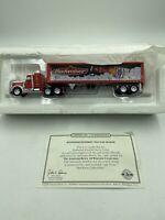 Matchbox Collectibles Budweiser Peterbilt Tractor Trailer w/ COA DYM36670 RARE