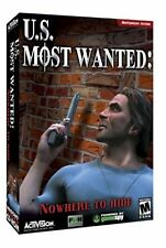 U.S. Most Wanted: Nowhere to Hide (PC Game, 2002) - Mature