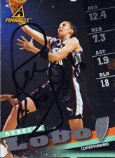 Rebecca Lobo WNBA baloncesto original autógrafo Pinnacle sammelbild (w-9864