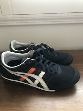 Onitsuka Tiger tennis shoes Size 8.5 Navy Blue And Orange HN201