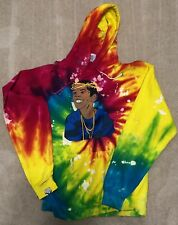 FLYGOD Rebirth Tie Dye Griselda by Fashion Rebels Hoodie XL Westside Gunn GxFR