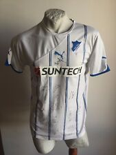 MAGLIA CALCIO PUMA HOFFENHEIM SUNTECH 2011 AWAY SIGNED TRIKOT FOOTBALL SHIRT