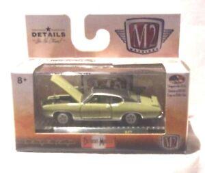 KKar2/Castline - 2019 Detroit Muscle - 1969 Pontiac GTO - Green with Black Roof