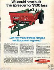 1968 Print Ad of Avco New Idea Single Beater Manure Spreader