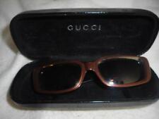 3d25e33c6 Pré-possuído Vintage Gucci 2409/S 6BJ óculos de sol com lentes de prescrição