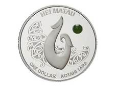 1 $ Dollar Maori Art Hei Matau Neuseeland 1 oz Silber PP Proof 2012