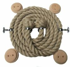 Natural bannister rope - Choose diameter, length and Colour Fittings