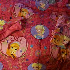 Disney Frozen Twin 4 piece Bed Set bonus Tote Reversible Comforter 5 items