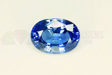 Ceylon Blue Sapphire Oval 7x5mm VS 1.19ct Loose Natural Gemstone Sri Lanka Clean