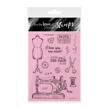 HUNKYDORY For the Love of Stamps SEW SPECIAL FTLS215 Needle Thread Machine Dummy