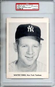 1958-61 JAY PUBLISHING PHOTOS WHITEY FORD & BOB TURLEY PSA