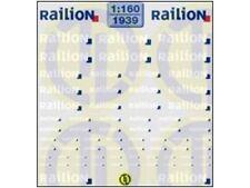 TL-Decals 1939 - Decals Railion Beschriftungen für Loks & wagens - Spur N - NEU