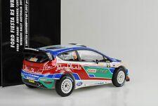 2011 FORD FIESTA RS WRC #3 Ganador Rally Australia Hirvonen lethi 1:18