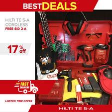 Hilti Te 5 A Hammer Drill Preowned Free Hilti Sid 2 A Driver Bits Fast Ship