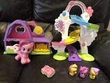 My little pony playskool play sets bundle