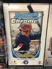 2011 Bowman Chrome Baseball Factory Sealed Hobby Box