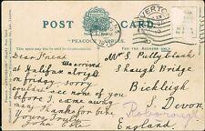 Mr S Pullyblank. Shaugh Bridge, Bickleigh, Devon 1910  - John Cole   BG.326
