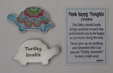 m Turtley Lovable THINK HAPPY THOUGHTS Turtle pocket figurine charm ganz