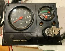 NOS Volvo MD Instrument panel with 2 keys never installed