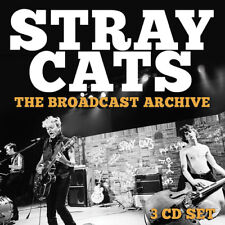 Stray Cats : The Broadcast Archive CD (2017) ***NEW*** FREE Shipping, Save £s