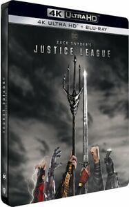 Zack Snyder's Cut: 2021 Justice League Edition 4K Steelbook + Marvel Art Cards