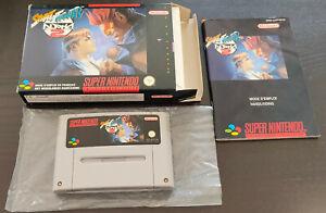 [Super Nintendo / SNES] Jeu Street Fighter Alpha 2 complet PAL (NFAH)