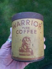 More details for ww2 home front pictorial advertising warrior coffee tin