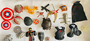 Shield Lot Junk Drawer Action Figure Accessories Toys