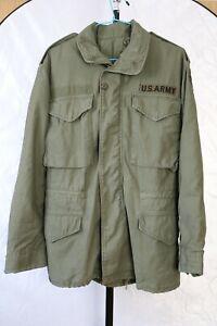 Vintage Alpha Industries US ARMY M65 COAT FIELD JACKET Gr. XS